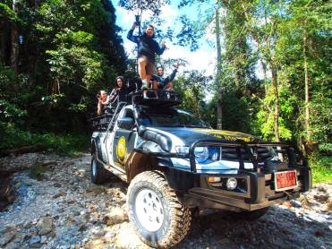 OFF ROAD<br /> <em>Best jungle experience without elephants</em>