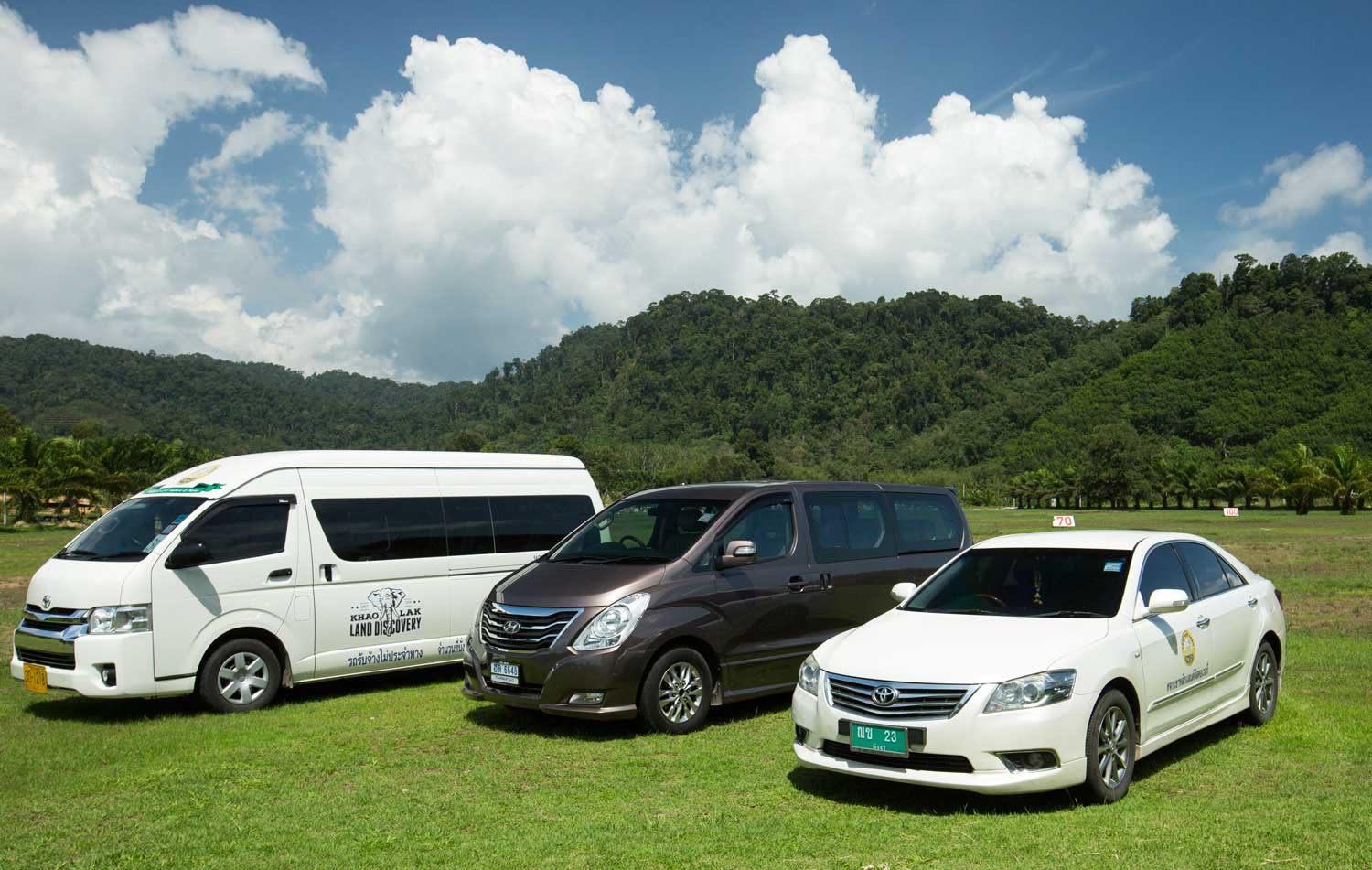 Transfer cars khao lak land discovery