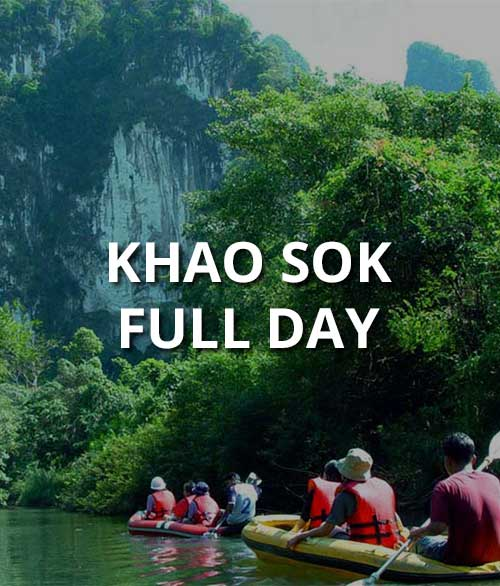 Khao Sok Full Day Package