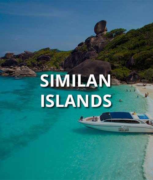 Similan Islands Snorkeling Day Trip Package