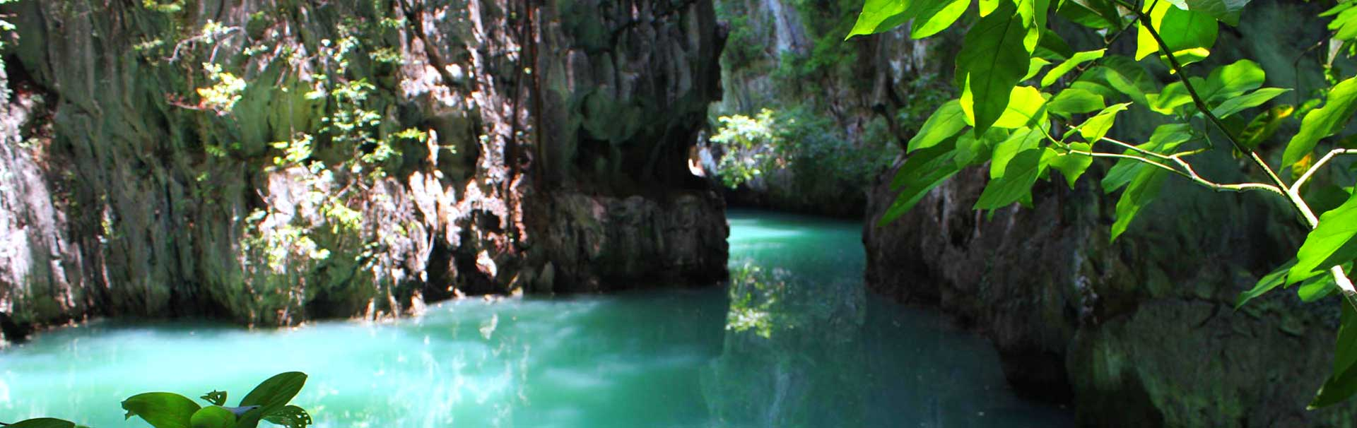 Hidden waterways in Phang Nga Bay