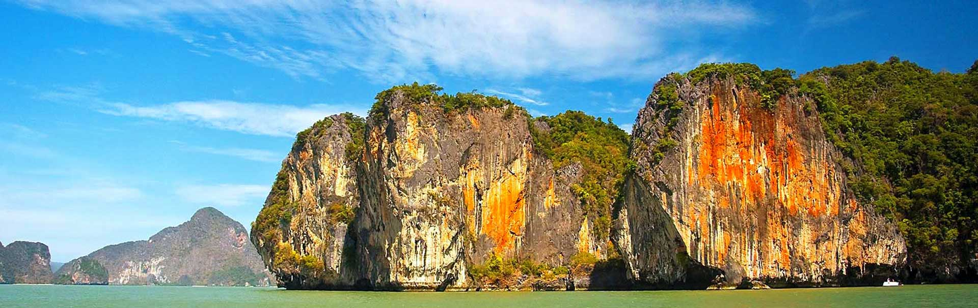 Epic views of Phang Nga Bay