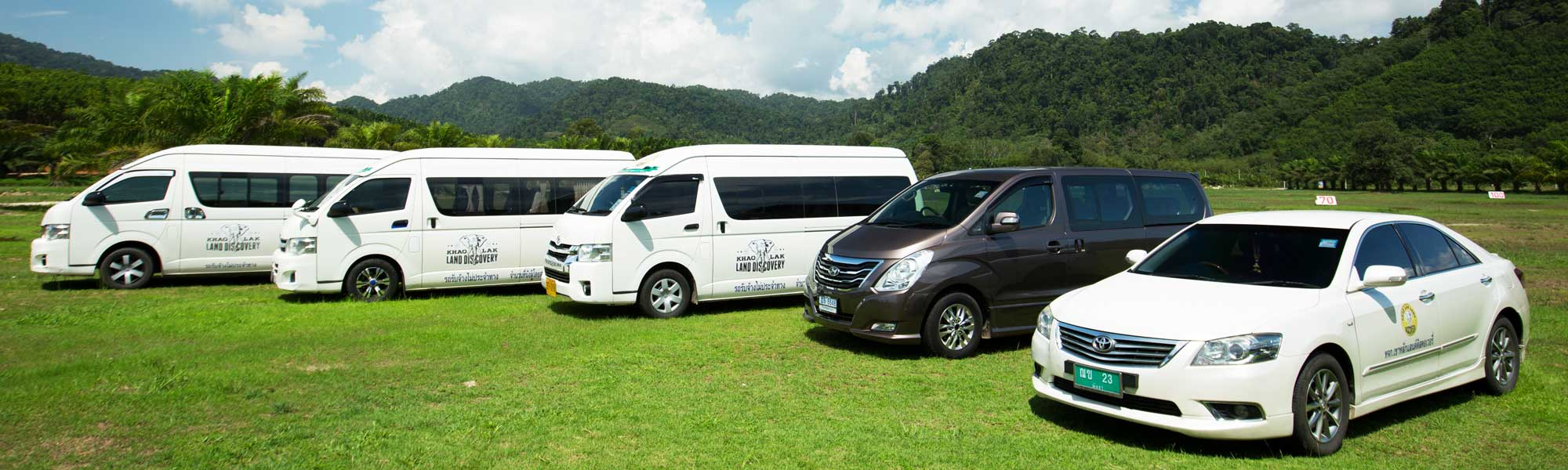 All size transports Khaolak Transfer