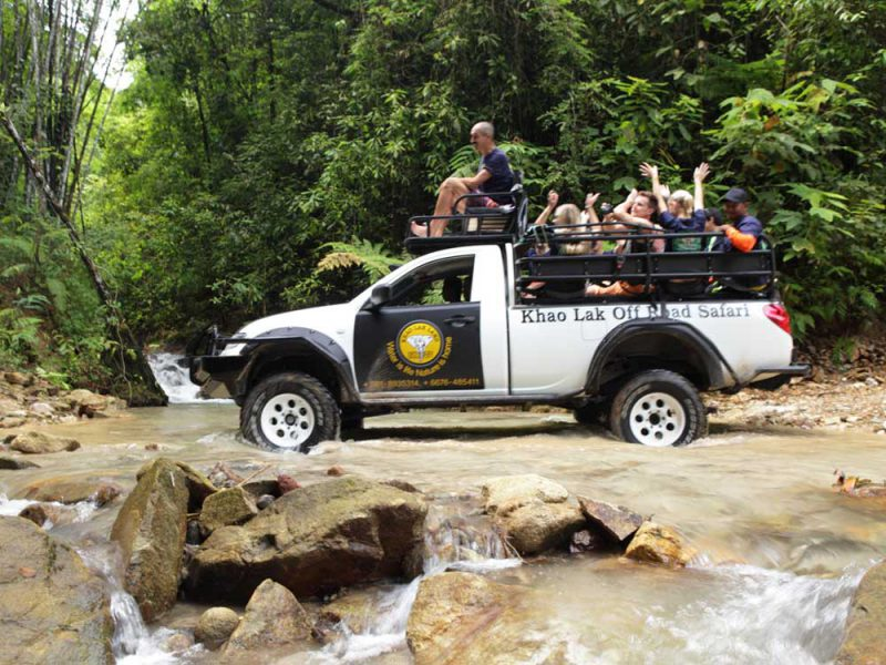 Fun on the Off Road Tour by Khao Lak Land Discovery