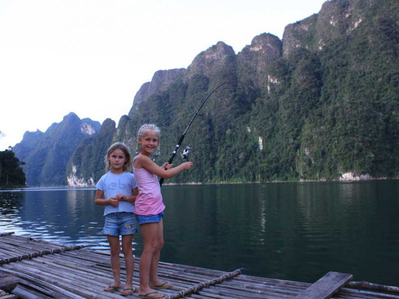 two girls Khaolak Full Day Trip