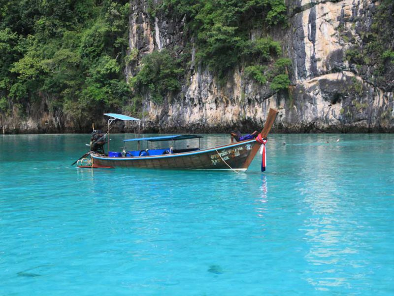 Longtailboat Phi Phi Islands