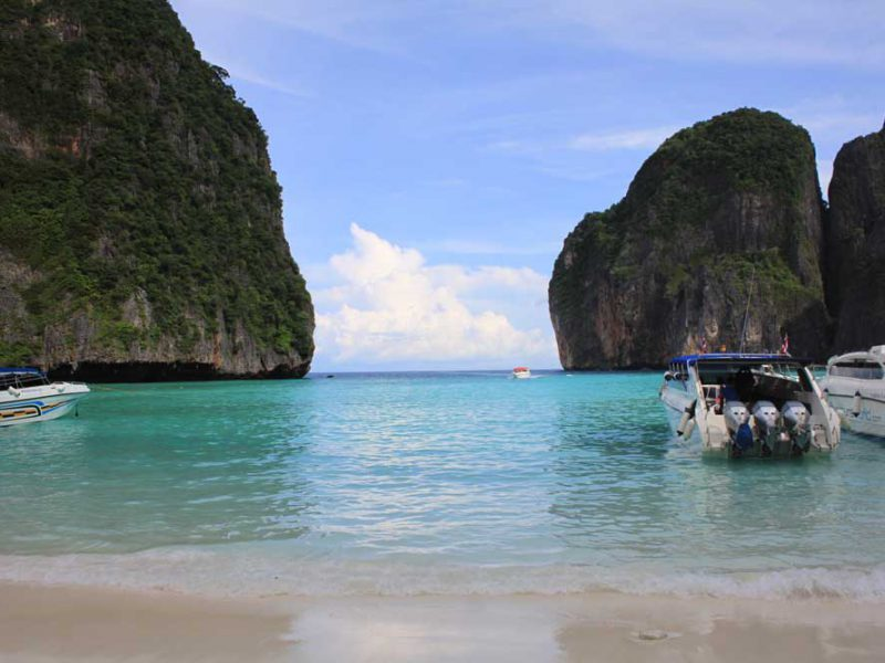 Speedboat at Phi Phi Island