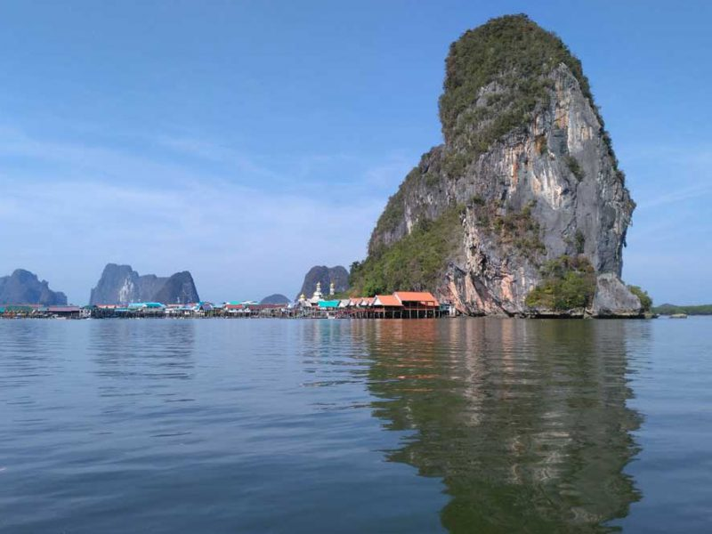 Gypsy village at the Phang Nga Bay