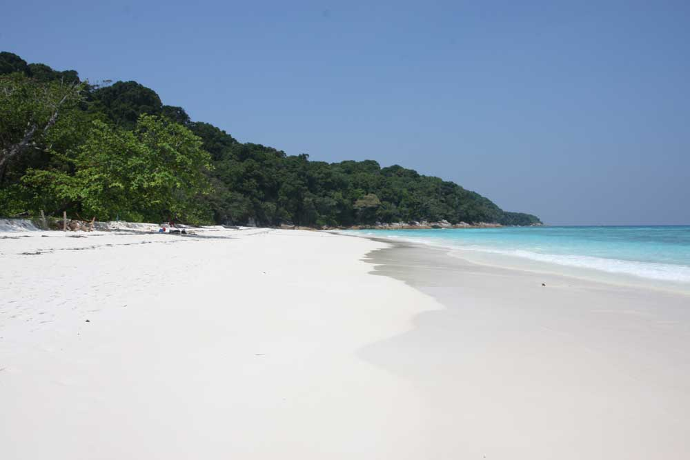 The beach at Koh Tachai