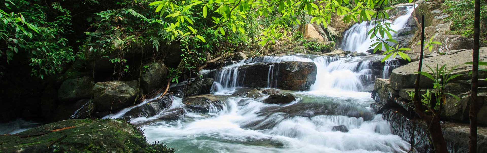 Waterfall you will see on the off-road safari
