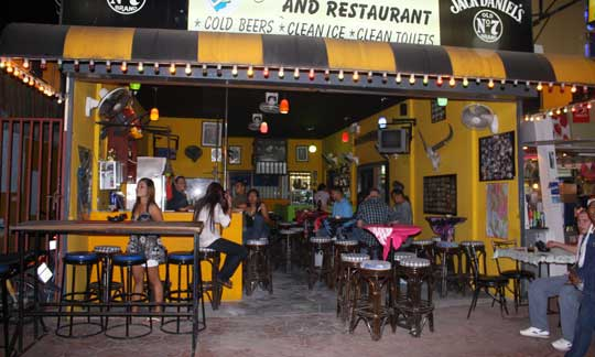 One of the many bars in Patong