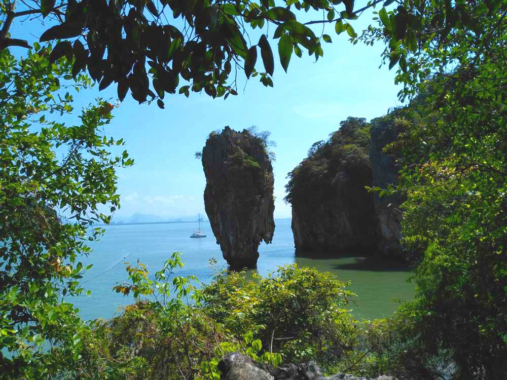 L'Ile de James Bond<br /> sur la Baie de Phang Nga<br /> <em>James Bond et plus…</em>