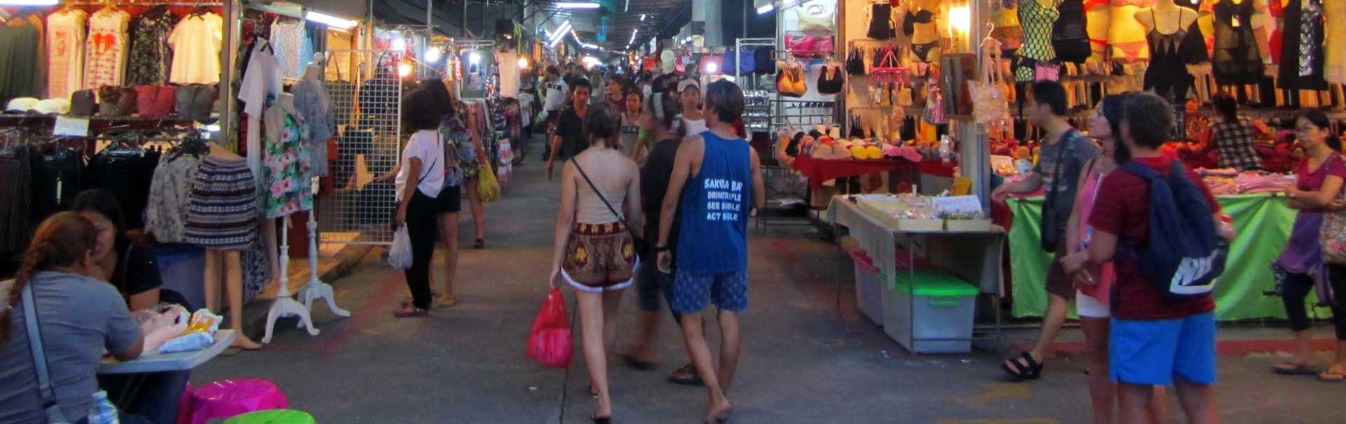 Phuket's Naka Market by night