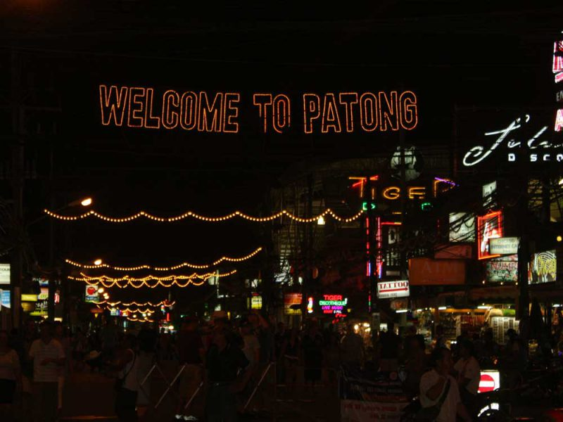 welcome to patong Phuket Market