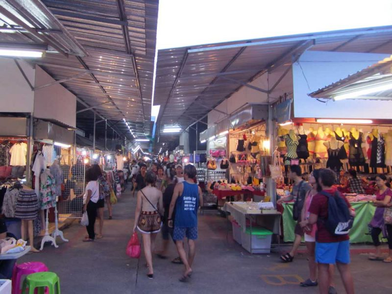 Naka market entrance