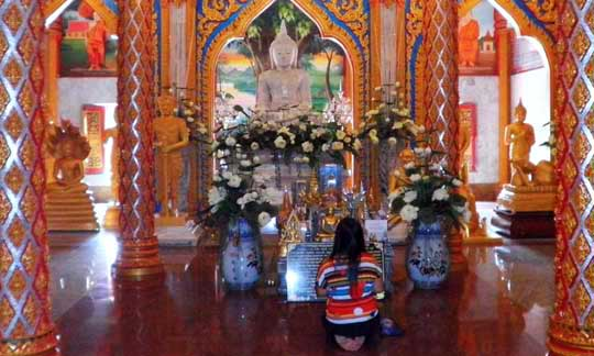 At Wat Chalong Temple