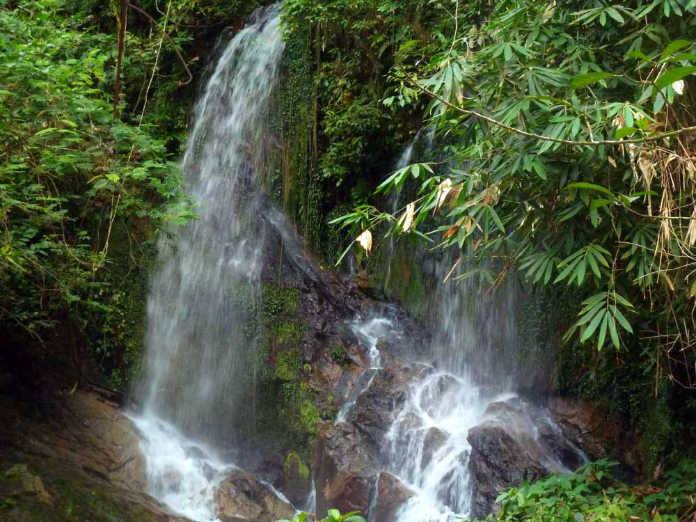 Khao Lak Nature Explorer waterfall