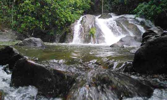 Waterfall in Lamru National Park