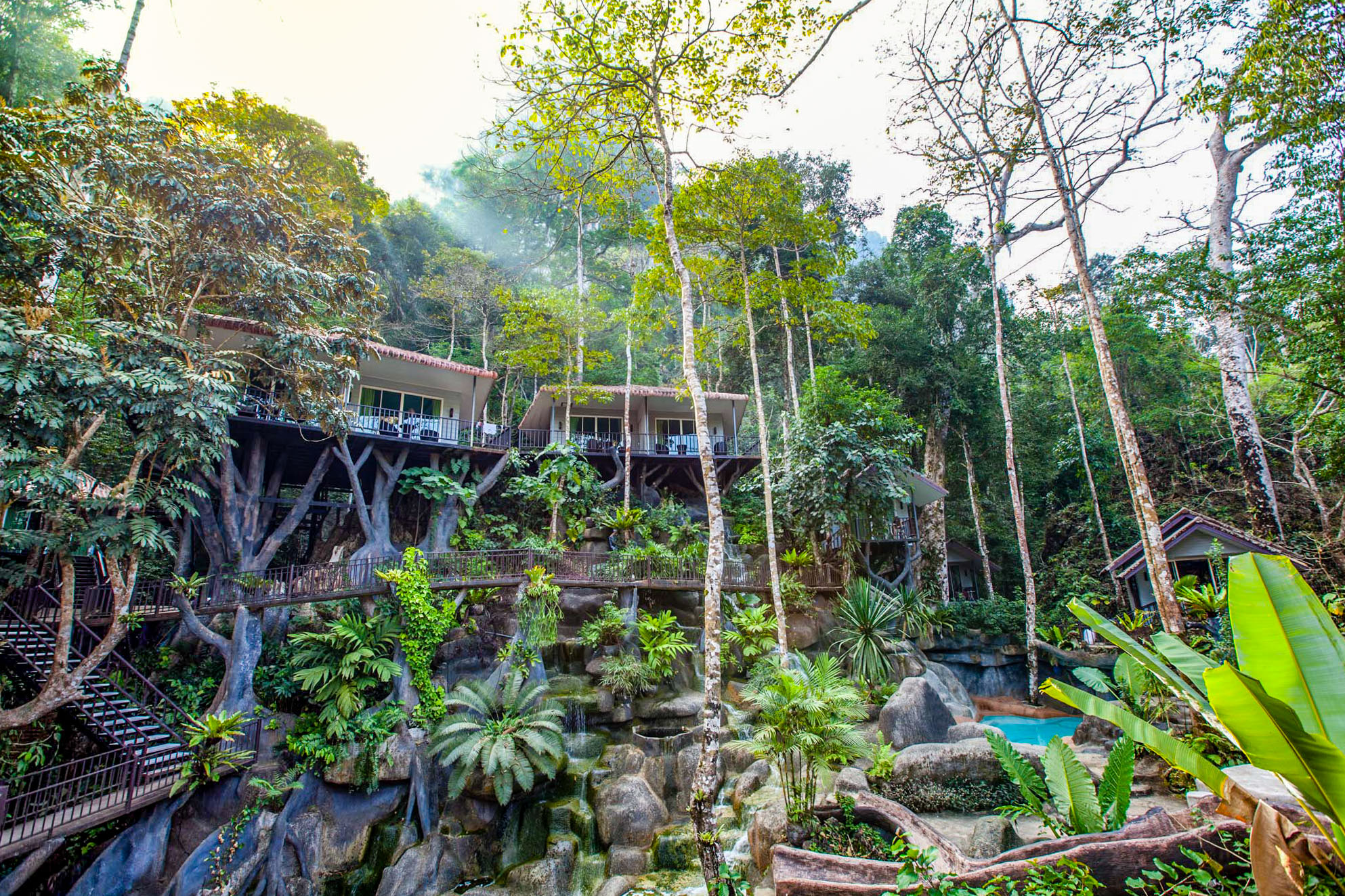 khao sok rock and treehouse resort